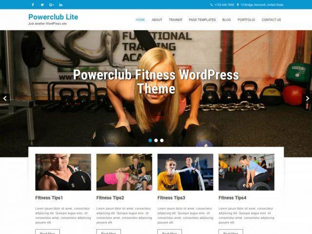 Szablon Powerclub Lite