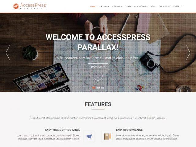 Szablon AccessPress Parallax