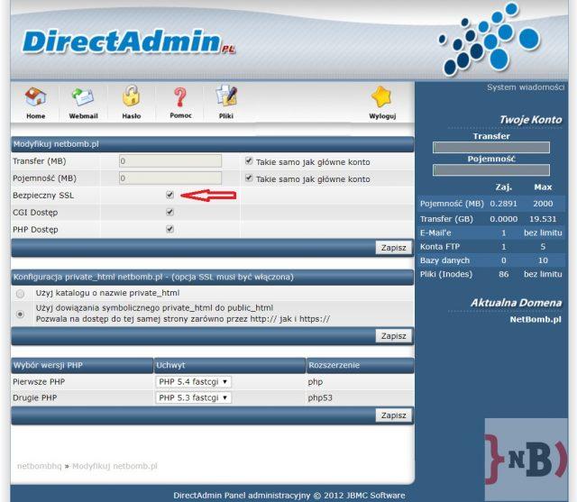 Darmowy certyfikat SSL - Jak włączyć certyfikat SSL