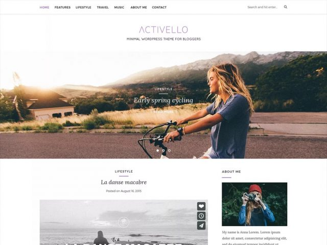 wordpress woocommerce - Szablon Activello