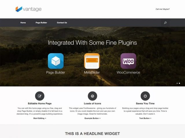 wordpress woocommerce - Szablon Vantage